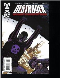 Destroyer #4 (Max, 2009)