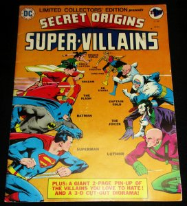 Secret Origins Super-Villains Limited Collectors Treasury Ed C-39 (DC, 1975) VG