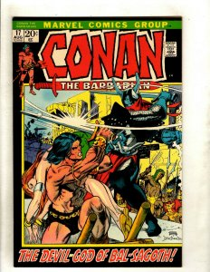 Conan The Barbarian # 17 VF/NM Marvel Comic Book Elric Red Sonja Kull King RS2