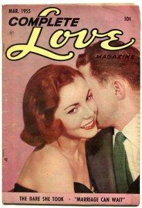 Complete Love Magazine #182 1955-Ace Golden Age Romance comic VG