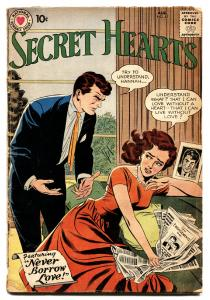 Secret Hearts #57 comic book 1959- DC Romance- Silver Age