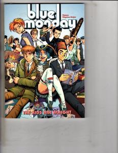 Blue Monday The Kids Are Alright Oni Press Comics Graphic Novel Comic Book J240