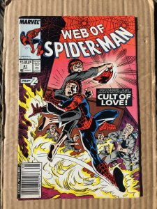 Web of Spider-Man #41 (1988)