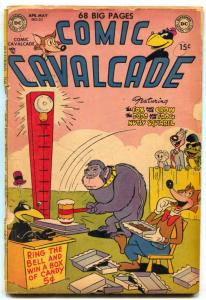 Comic Cavalcade #50 1952- Fox and Crow- Giant issue G-