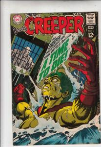 Creeper, Beware The #6 (Apr-69) NM/NM- High-Grade Creeper