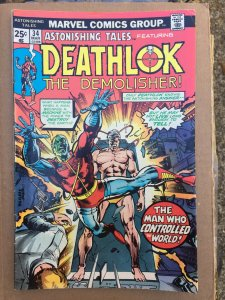 Astonishing Tales #34 Deathlok