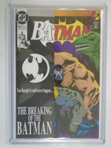 Batman #497 Direct edition 9.4 NM CGC it! (1993)