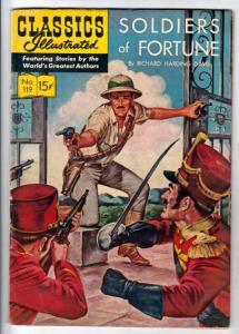 Classics Illustrated #119 (May-54) FN Mid-Grade