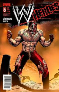 WWE Heroes #5A VF/NM; Titan | save on shipping - details inside