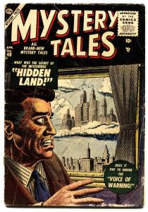 Mystery Tales #40 LOST tv show issue-DITKO-1956- Atlas Horror