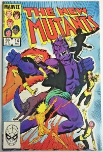 NEW MUTANTS#14 FN 1984 MARVEL COMICS