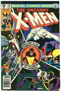 X-MEN #139 1980- Newsstand-MARVEL COMICS-KITTY PRYDE/WOLVERINE/STORM VF-