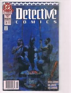 Detective Comics Annual # 3 FN DC Comic Book Batman Robin Joker Penguin S80