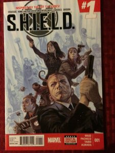 SHIELD #1 Marvel Comics TV Series NM (2015) Agents of Shield