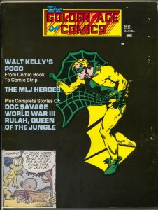 Golden Age Of Comics #8 1/1984- Web cover-Walt Kelly's Pogo-Doc Savage-VG/FN