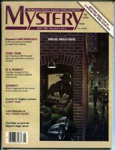 Mystery 9/1981-Dashiel Hammet-San Francisco-Hill Street Blues-WR Burnett-G