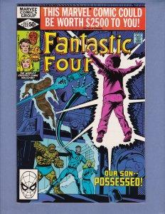 Fantastic Four #222 NM- Marvel 1980