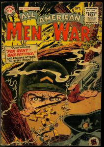 ALL-AMERICAN MEN OF WAR #25 1955-DC COMICS-WW II BATTLE VG