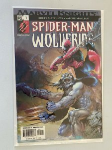 Spider-Man and Wolverine #1 8.0 VF (2003)