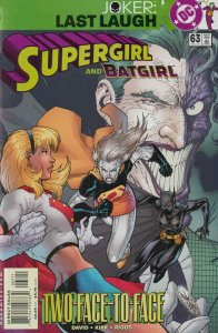Supergirl (3rd Series) #63 VF/NM; DC   save on shipping - details inside
