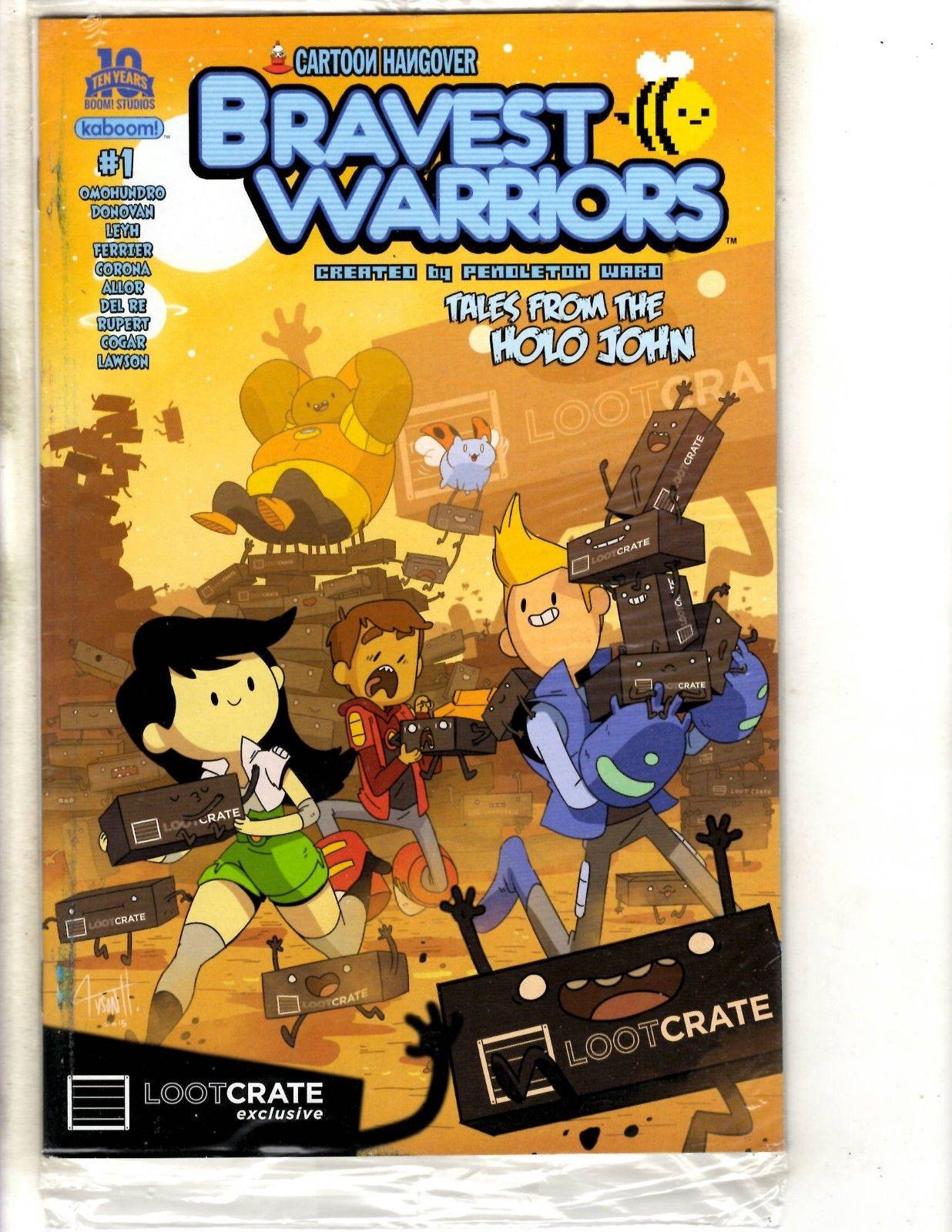 variant BRAVEST WARRIORS #1 2nd print PENDLETON WARD kaBOOM comic book NM NEW