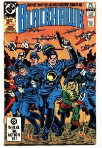 BLACKHAWK #251-1982-First issue-reboot-comic book DC VF/NM