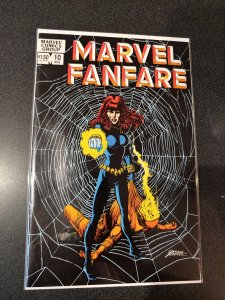 Marvel Fanfare #10 Black Widow Origin Issue!  HIGH GRADE