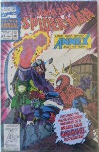 Amazing Spider-man Annual #27. Still In Poly! VF+