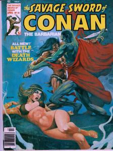 Savage Sword of Conan #18 - Early Conan Magazine - 6.0 or Better