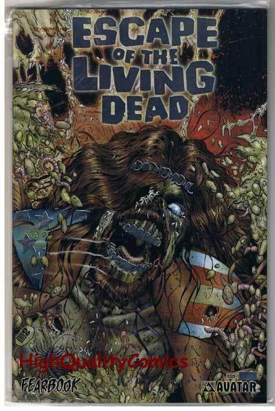 ESCAPE of the LIVING DEAD FearBook, NM, LIMITED, Zombies, more Horror in store