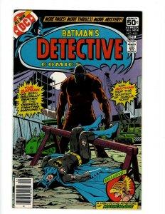 Detective Comics # 480 VF/NM DC Comic Book Batman Robin Joker Catwoman SR1