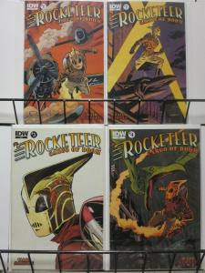 ROCKETEER CARGO OF DOOM (2012 IDW) 1A-4A  Waid & Samnee