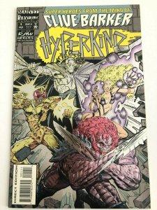 Hyperkind #1 Clive Barker Razorline Foil Embossed Cover Marvel Comics NM