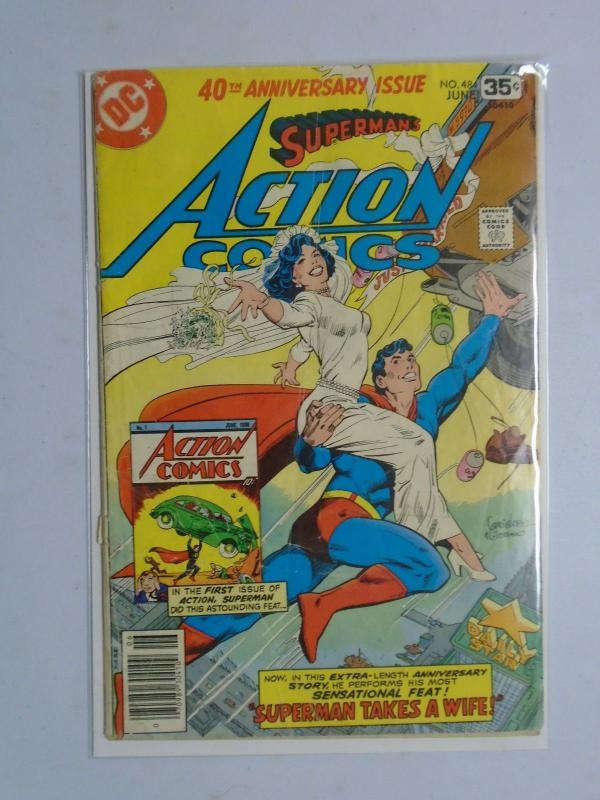 DC Superman Action Comics # 484 Reader Copy (1978)