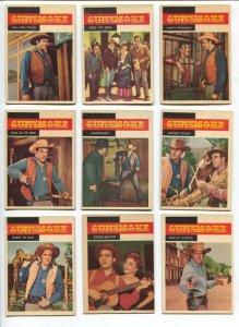 Gunsmoke Western TV Series Trading Card Set 1958-James Arness-Dennis Weaver
