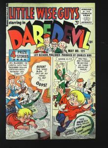 Daredevil Comics (1941 series) #121, Fine- (Actual scan)