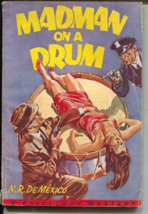 Cavalcade Mystery-Madman On A Drum-spicy Good Girl Art-VG