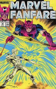 Marvel Fanfare #39 VF/NM; Marvel   save on shipping - details inside