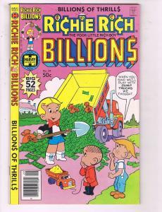 Richie Rich Billions #29 VF Harvey World Comic Book DE19