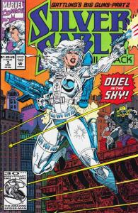 Silver Sable and the Wild Pack #3, NM- (Stock photo)