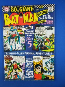 BATMAN 185 VF  1966 ROBIN STORIES
