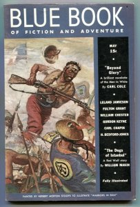 Blue Book Pulp May 1938- Dogs of Istanbul F/VF