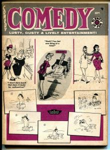 Comedy 9/1959-Timely-cheesecake-Diane Weber-Ward-Wenzel-June Wilkinson-VG