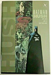 BATMAN 'HUSH' HARDCOVER VOL 1 SIGNED AND SKETCH BY JIM LEE 2003 DC COMICS