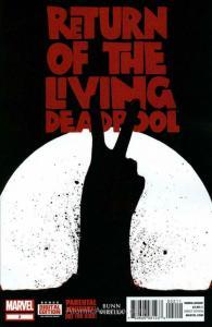 Return of the Living Deadpool #2 VF/NM; Marvel   save on shipping - details insi
