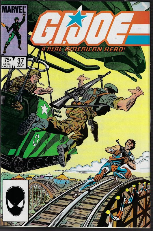GI Joe, A Real American Hero #37 (Marvel, 1985) NM-