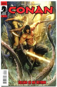 CONAN ISLAND of NO RETURN #2, NM,  Bart Sears, 2011, more Conan in store