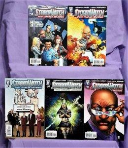 Christos Gage Worldstorm STORMWATCH P.H.D. #1 - 5 Doug Mahnke (DC, 2007)!