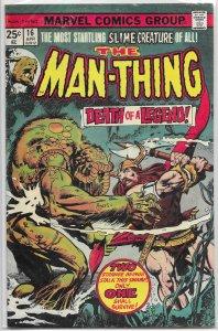 Man-Thing   vol. 1   #16 VG/FN