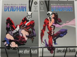 DEADMAN LOVE AFTER DEATH 1-2  Mike Baron & Kelly Jones